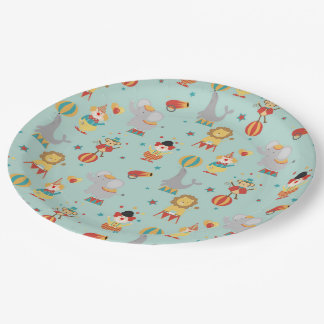 Circus Paper Plate