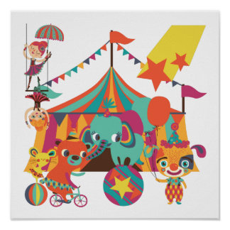 Circus Performers Posters