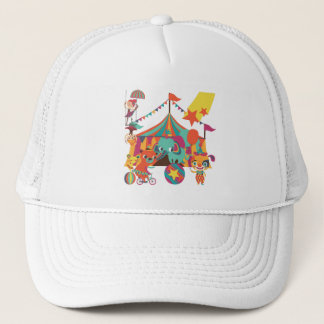 Circus Performers Trucker Hat
