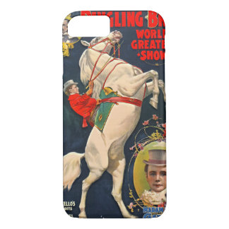 Circus Playbill 1899 iPhone 7 Case