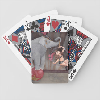 Circus Playing Card