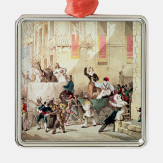 Circus Procession in Italy, 1830 Christmas Ornament
