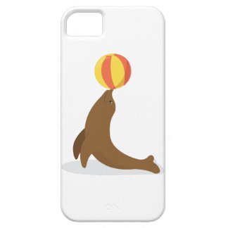 Circus Seal iPhone 5 Cases