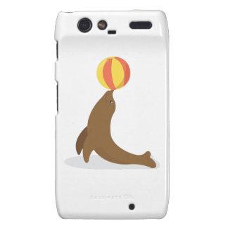 Circus Seal Motorola Droid RAZR Cases