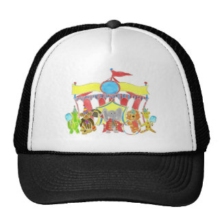 Circus Tent Critters Mesh Hats
