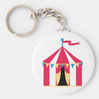 Circus Tent Key Chain