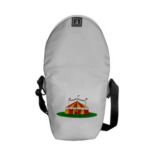 Circus Tent Messenger Bag