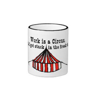 Circus Tent Ringer Coffee Mug