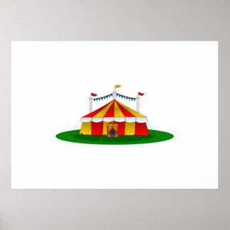 Circus Tent Poster