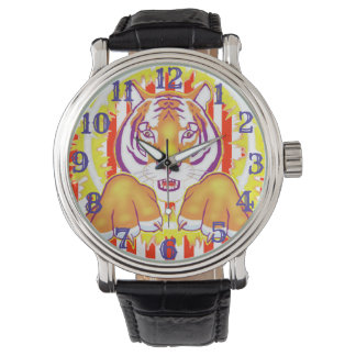 Circus Tiger wrist watch