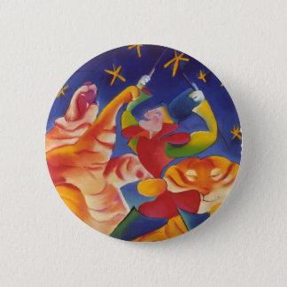 Circus Tigers 6 Cm Round Badge
