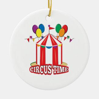Circus Time Christmas Ornament