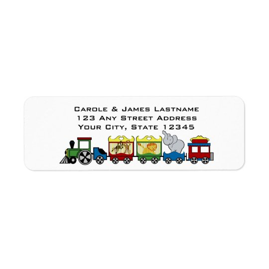 Circus Train Address