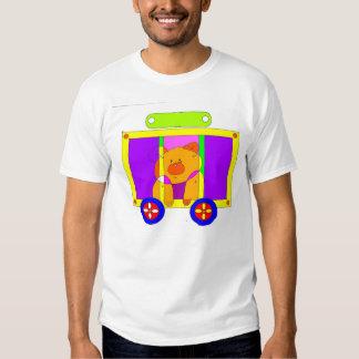 circus wagon 300dpi t-shirt