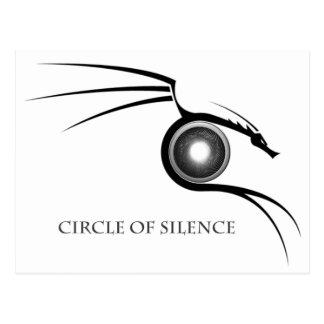 Cirlce of Silence Graphic - Dark Postcard