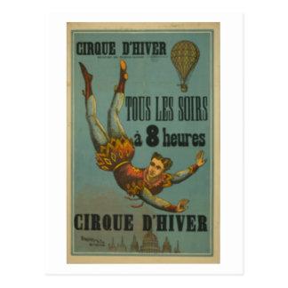 Cirque D Hiver Postcard