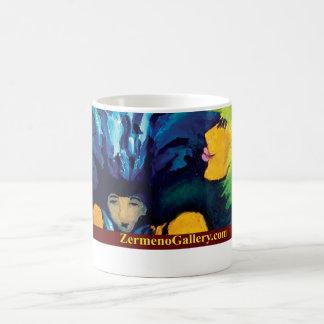 """Cirque Mère Et Enfant"" (Border & Text underneath) Classic White Coffee Mug"