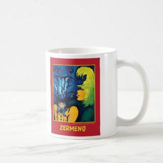 """Cirque Mère Et Enfant"" by Zerme Classic White Coffee Mug"