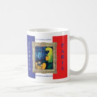 """""""Cirque Mére et Enfant"""" x 2 Wrap Around Classic White Coffee Mug"""