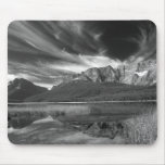 Cirrus clouds over Waterfowl Lake, Banff Mouse Mat