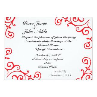 Cirrus Ivory (Ruby) Wedding Invitation