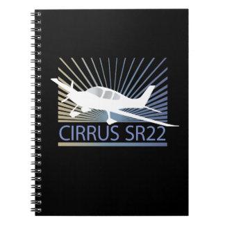 Cirrus SR22 Spiral Notebooks