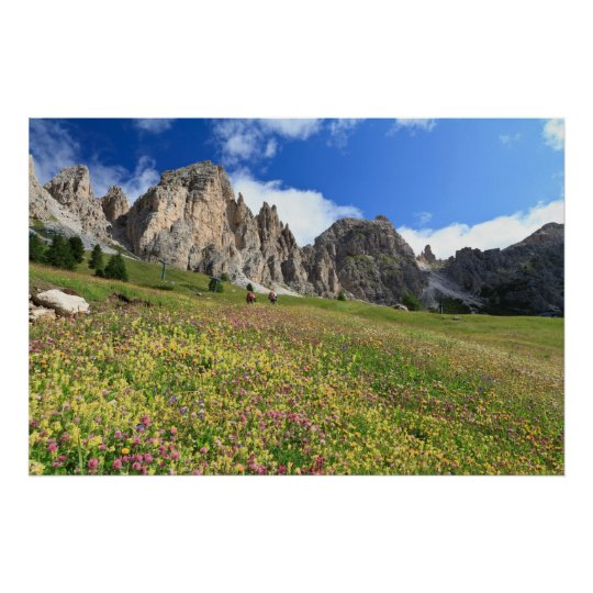 Cirspitzen Dolomites Poster