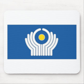 CIS Commonwealth of Independent States Flag Mouse Pad