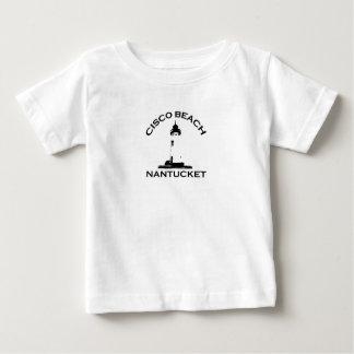 """Cisco Beach """"Lighthouse"""" Design. Tee Shirt"""