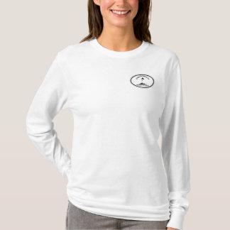Cisco Beach Oval Design. T-Shirt