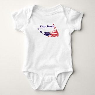 """Cisco Beach """"Surf"""" Design. Baby Bodysuit"""