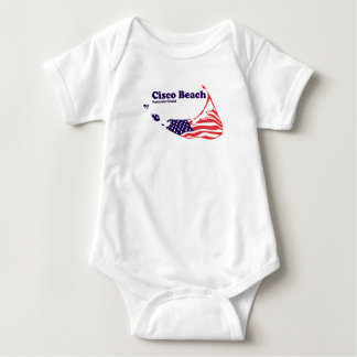 "Cisco Beach ""Surf"" Design. T Shirt"