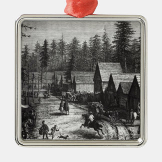 Cisco, station county of Placer Christmas Ornament