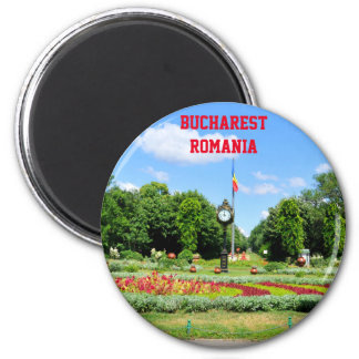 Cismigiu Park in Bucharest, Romania Magnet
