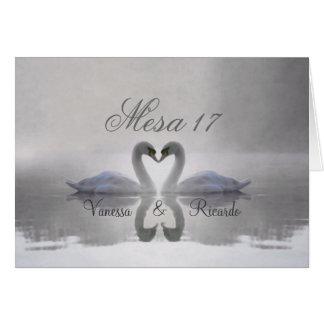 Cisne Enamorado ~ Tarjeta de Presentacion Greeting Card