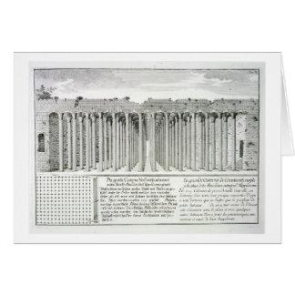 Cistern beneath the Hippodrome, Constantinople, Tu Greeting Card