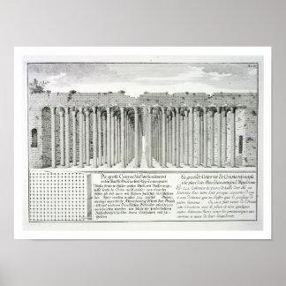 Cistern beneath the Hippodrome, Constantinople, Tu Poster