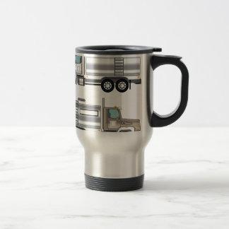 Cistern Truck Liquid Cargo Stainless Steel Travel Mug