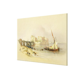Citadel of Sidon, April 28th 1839, plate 76 from V Canvas Print
