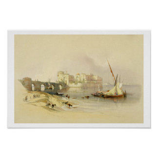 Citadel of Sidon, April 28th 1839, plate 76 from V Poster