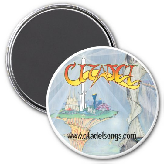 Citadel ® The Citadel of Cynosure & Other Tales 7.5 Cm Round Magnet