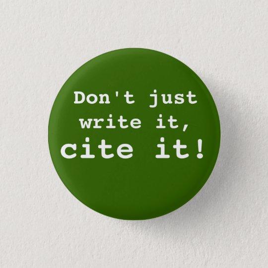 cite it! Button