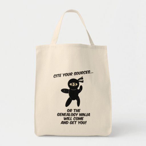 Cite Your Sources Ninja Bags