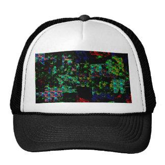 Citi Arcade Sparkle Spectrum Abstract FESTIVE GIFT Trucker Hats