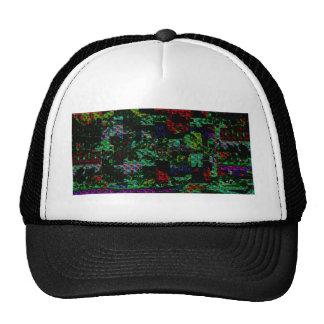 Citi Arcade Sparkle Spectrum Abstract FESTIVE GIFT Trucker Hat