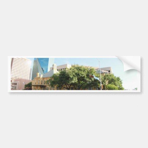 Cities Bumper Sticker