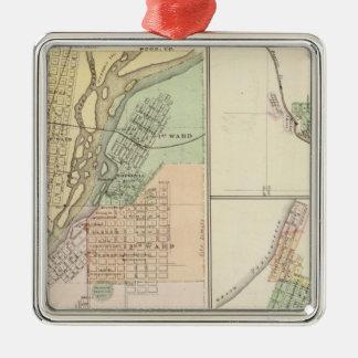 Cities of Centralia & Grand Rapids Christmas Ornament