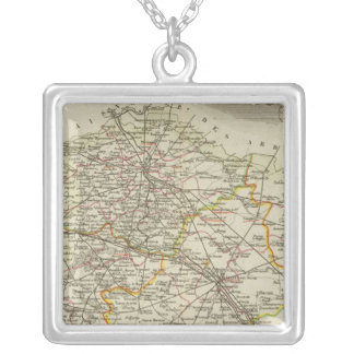 Cities Silver Plated Necklace