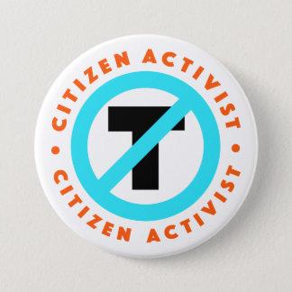 Citizen Activist Anti-Trump Button