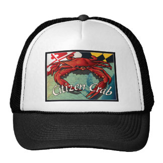 Citizen Crab of Maryland Cap